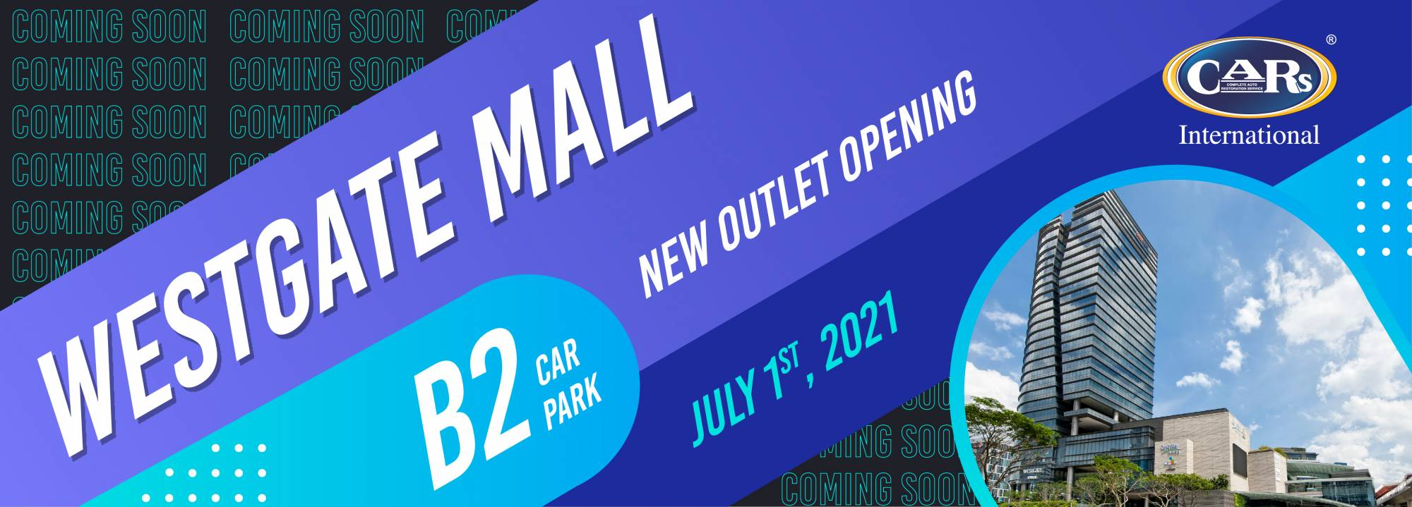 WESTGATE MALL OPENING SOON!